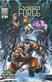 Cyber Force 1 -- Silvestri Wizard World Los Angeles Variant -- Top Cow -- COMIC00000122
