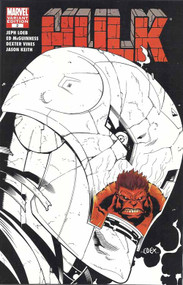 Hulk 2 -- Mcguinness Sketch Variant -- Red Hulk Iron Man Jeph Loeb -- COMIC00000134