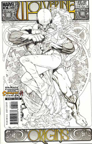 Wolverine Origins 5 Quesada Sketch Variant Phoenix Comicon Way Dillon -- COMIC00000148