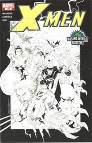 X-Men 175 Salvador Larroca Sketch Var Wizard World Boston Wolverine -- COMIC00000149