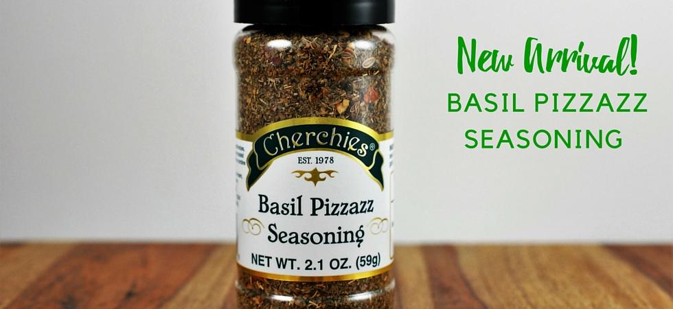 New! Cherchies Basil Pizzazz Seasoning