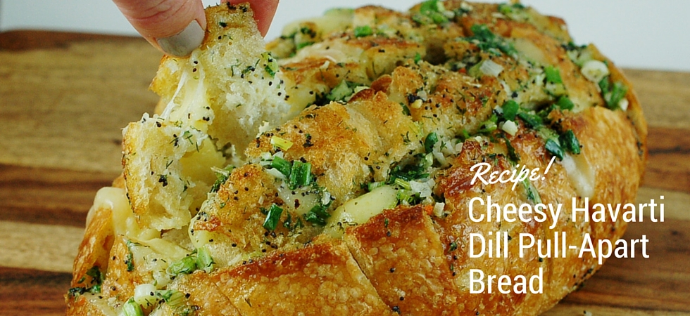 Havarti Bread Recipe featuring Lem'n Dill Seasoning