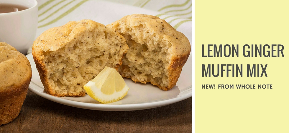New! Lemon Ginger Muffin Mix