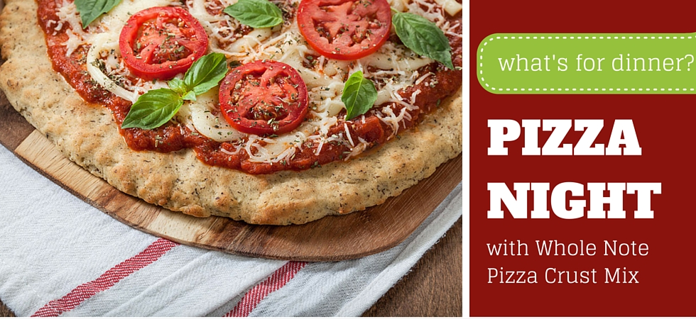 Easy Dinner Tonight - Pizza!
