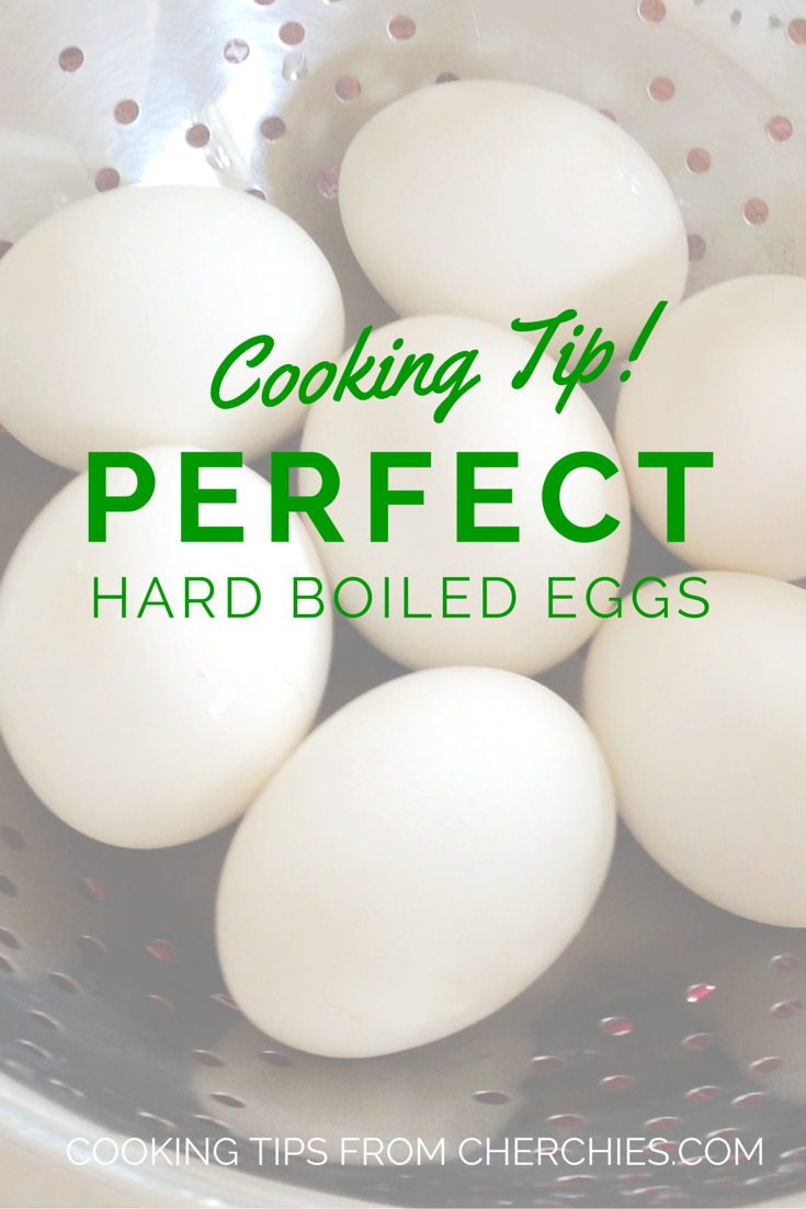 Cooking Tip: Perfect Hard Boiled Eggs!