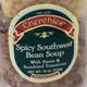 Southwest Bean Soup, closeup