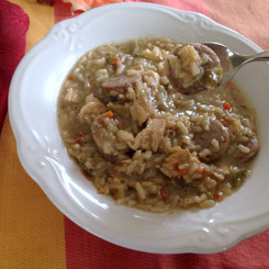 Cherchies Gumbo with File Seasoning