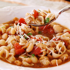 Cherchies Pasta e Fagioli Soup