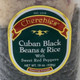 Cuban Black Beans & Rice, closeup