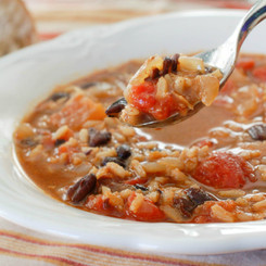 Cherchies Cuban & Black Beans & Rice Soup