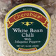 White Bean Chili, closeup