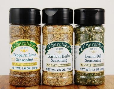 Cherchies No Salt Seasoning Trio