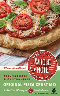 Whole Note Pizza Crust Mix