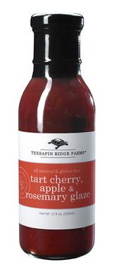 Tart Cherry, Apple & Rosemary Glaze