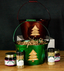 NEW!  Holiday Classic Gift Bucket in Green