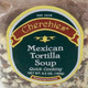 Mexican Tortilla Soup, closeup