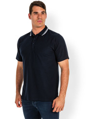 JB's Wear Adults Fine Knit Polo