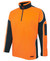 Arm Panel Hi Vis Orange/Navy Polar Fleece