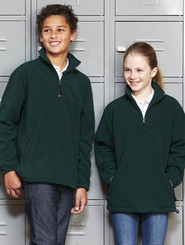 Biz Collection Kids 1/2 Zip Polar Fleece