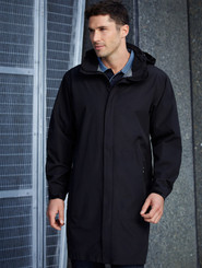 Navy - Stockman 3/4 Length Overcoat
