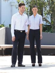 LSJ Mens Bourke Street Stripe Shirt