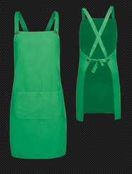 Canvas Cross Back Apron