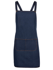 Denim Cross Back Apron