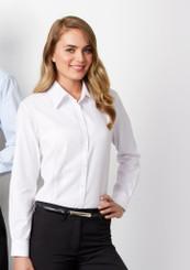 Boston Ladies Long Sleeve Shirt