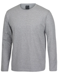 Grey Marle Long Sleeve Non Cuff T-Shirt