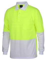 Hi Vis Painters L/S Polo