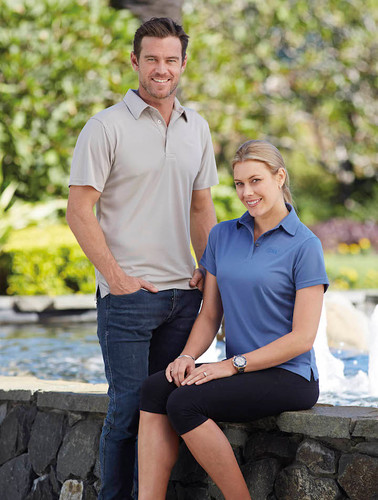 Stencil Mens & Ladies Glacier  Polo