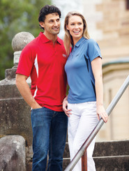 Stencil Mens & Ladies Arctic Polo