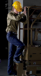 Bisley Womens Long Sleeve Drill Shirt