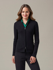 Biz Collection Cardigan Ladies 2 Way Zip