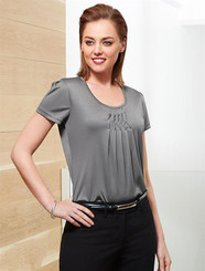 Deco Pleat Top