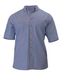 Chambray Shirt - Short Sleeve