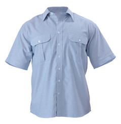 Bisley Mens Oxford Short Sleeve Shirt
