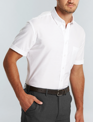 Wrinkle Free Oxford S/S Shirt