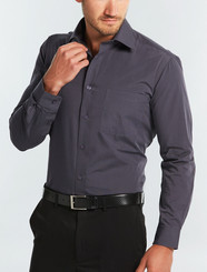 Gloweave Mens Slate End on End L/S Shirt