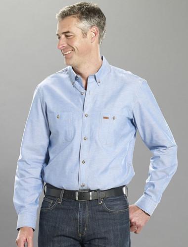 Gloweave Original Blue 5045 Chambray L/S Shirt