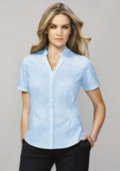 Bordeaux Ladies Short Sleeve Shirt (BC40112)