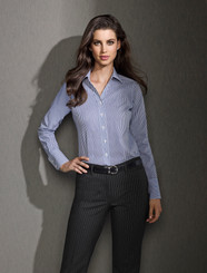 Ladies Relaxed Fit Cool Stretch Pinstripe Pant
