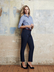 Ladies Slim Fit Cool Stretch Plain Pant