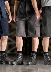 Mens Drill Cargo Shorts