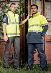 D/N Fleece Lined Hi Vis Vest