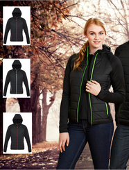 Ladies Stealth Tech Hoodie Jacket