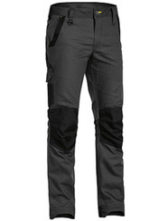 Bisley Flex & Move Charcoal Stretch Pant