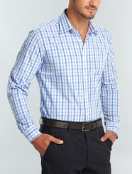 Gloweave Mens L/S Soft Tonal Check Shirt