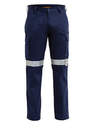 Bisley New Cotton Drill Taped Cargo Pant