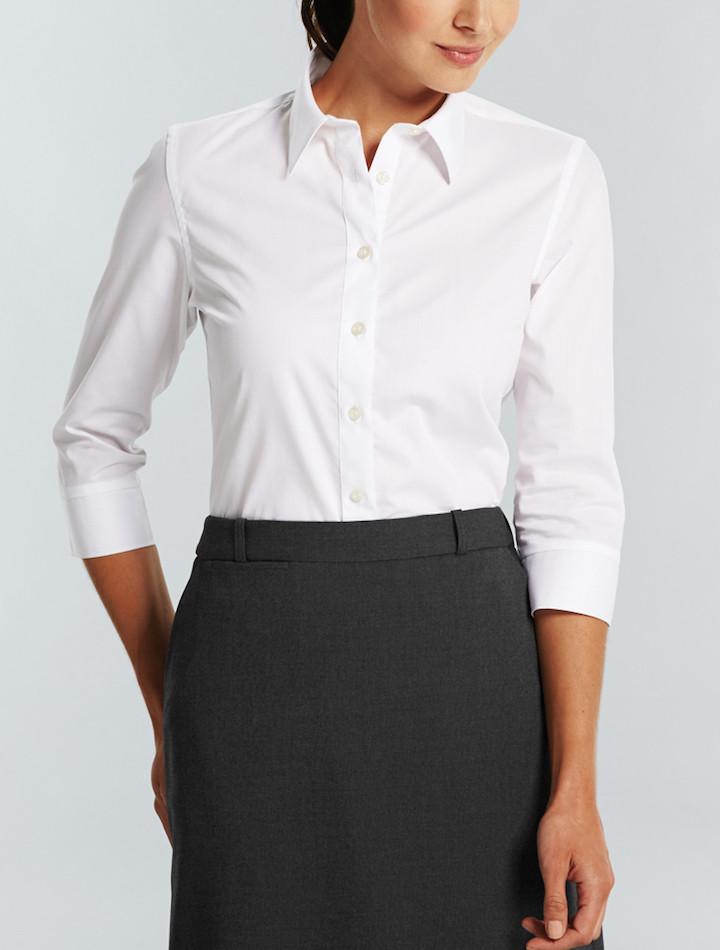 Gloweave Wrinkle Free Ladies 3 4 Sleeve Shirt